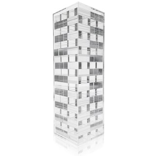 Link to OnDisplay 3D Luxe Acrylic Stacking Tower Puzzle Game, Clear Similar Items in Table Games