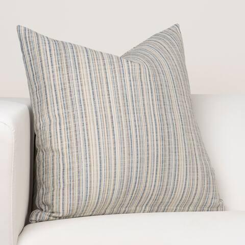 Ernest Hemingway Sandpiper Stripe Ocean Designer Throw Pillow