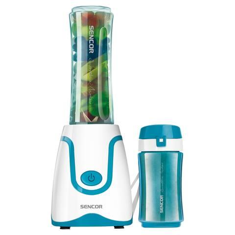 Sencor SBL2207TQ Smoothie Blender with 2 Bottles, Turquoise