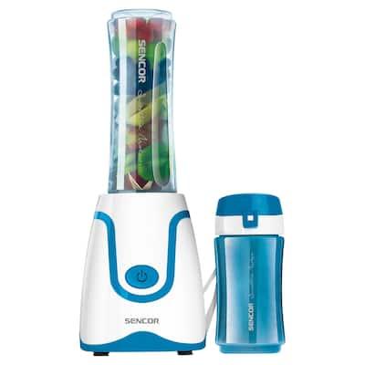 Sencor SBL2202BL Smoothie Blender with 2 Bottles, Blue