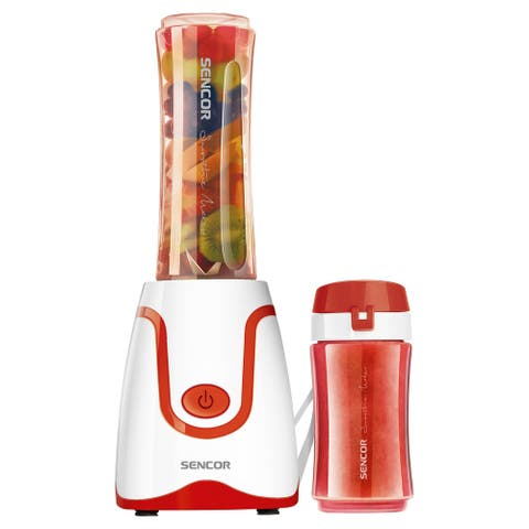 Sencor SBL2204RD Smoothie Blender with 2 Bottles, Red