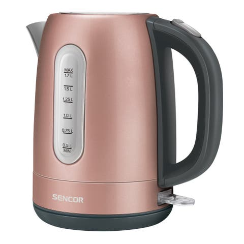 Sencor SWK1775RS Stainless Electric Kettle, 1.7L, Pink