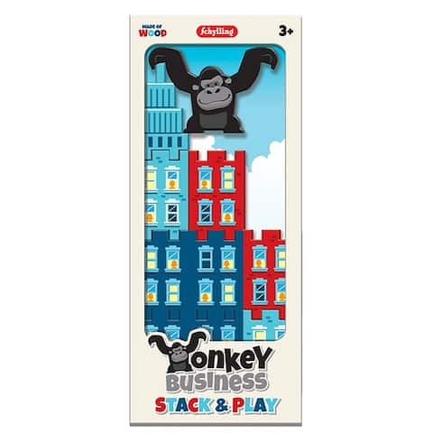 Schylling Little Classics Monkey Business Stack and Play