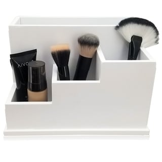 Link to OnDisplay Coraline Deluxe Wood Cosmetics/Makeup Organization Station Similar Items in Makeup Brushes & Cases