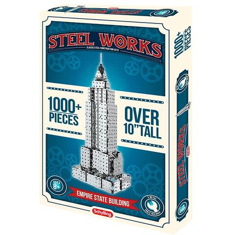 Schylling Steel Works Empire State Building Construction Set