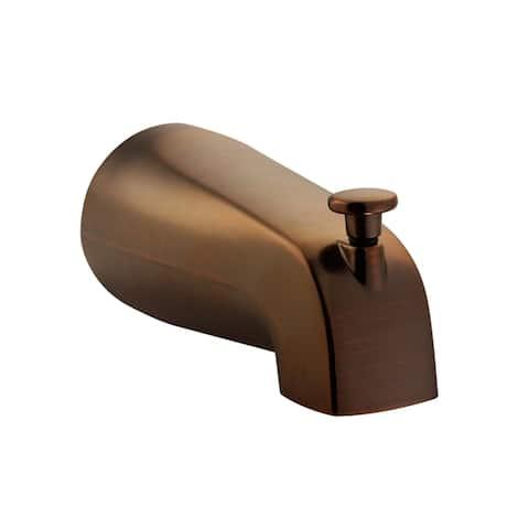 PULSE ShowerSpas Oil-Rubbed Bronze Tub Spout with Diverter