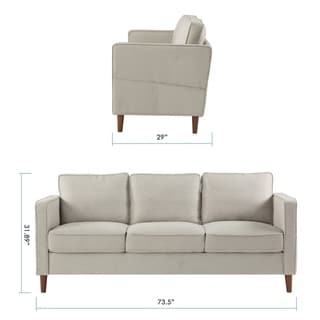 Outstanding Buy Armless Sofas Couches Online At Overstock Our Best Short Links Chair Design For Home Short Linksinfo