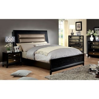 Williams Home Furnishing Golva Queen Bed in Dark Brown Finish