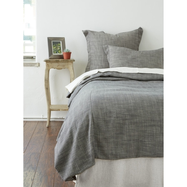 Cottage Home Levi Duvet Cover Set Charcoal. Opens flyout.