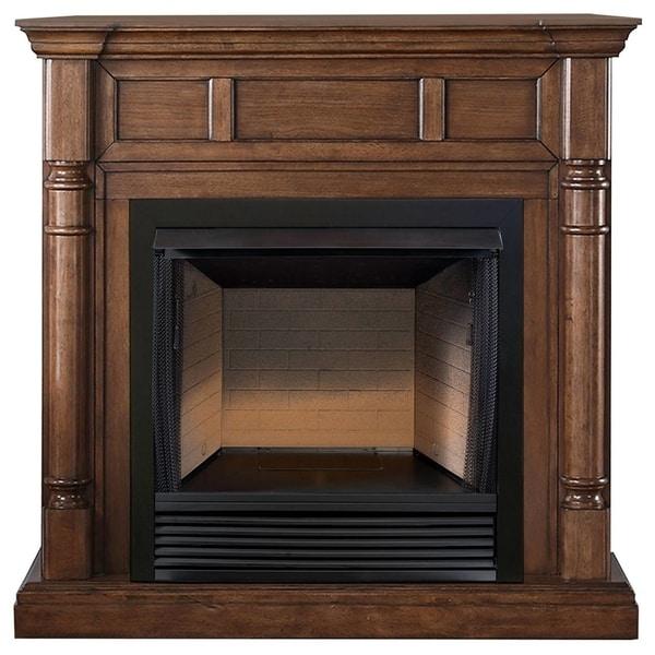 ProCom Heating 32in Ventless Firebox PC32VFC with CM500-2WN Walnut Finish - Model# FBS32-500-2WN
