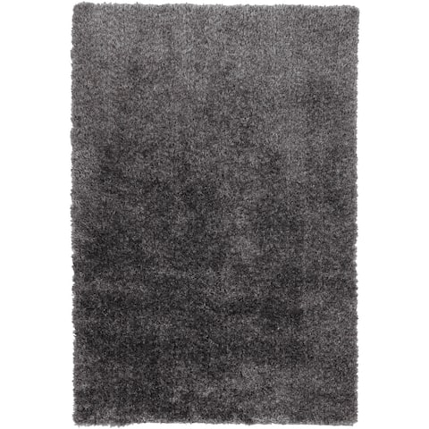Addison Retreat Multi Tonal Plush Shag Area Rug