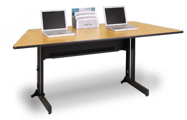 Marvel 60-inch Folding Trapezoid Training Table