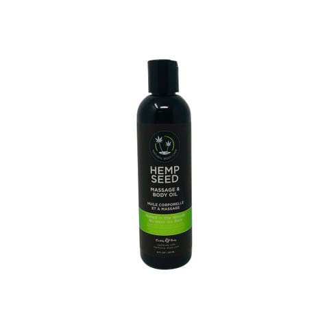 Hemp Seed Massage & Body Oil Naked in the Woods 8 oz