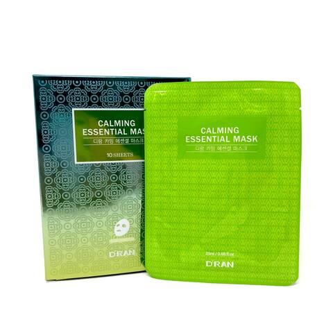 D'RAN Calming Essential Mask 10 sheets 0.68 oz