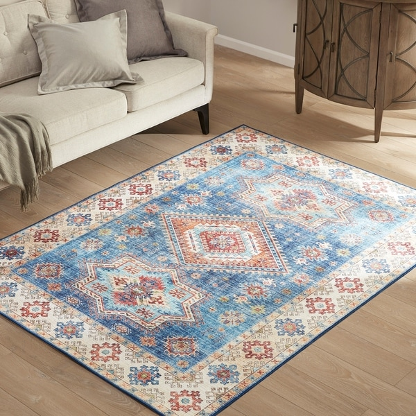 Madison Park Olivia Multi Printed Imagine Area Rug