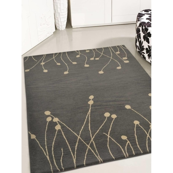 Masterpiece Oriental Modern Carpet Hand Tufted Indian Wool Area Rug