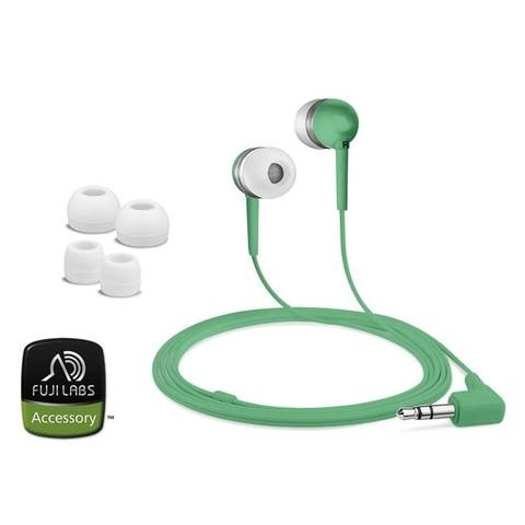 Fuji Labs Green Acoustic Isolation Silicone Earbud