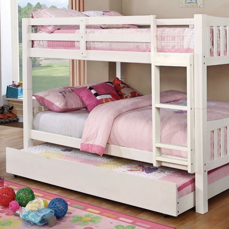 Williams Home Furnishing Cameron Full Bed in White  Finish
