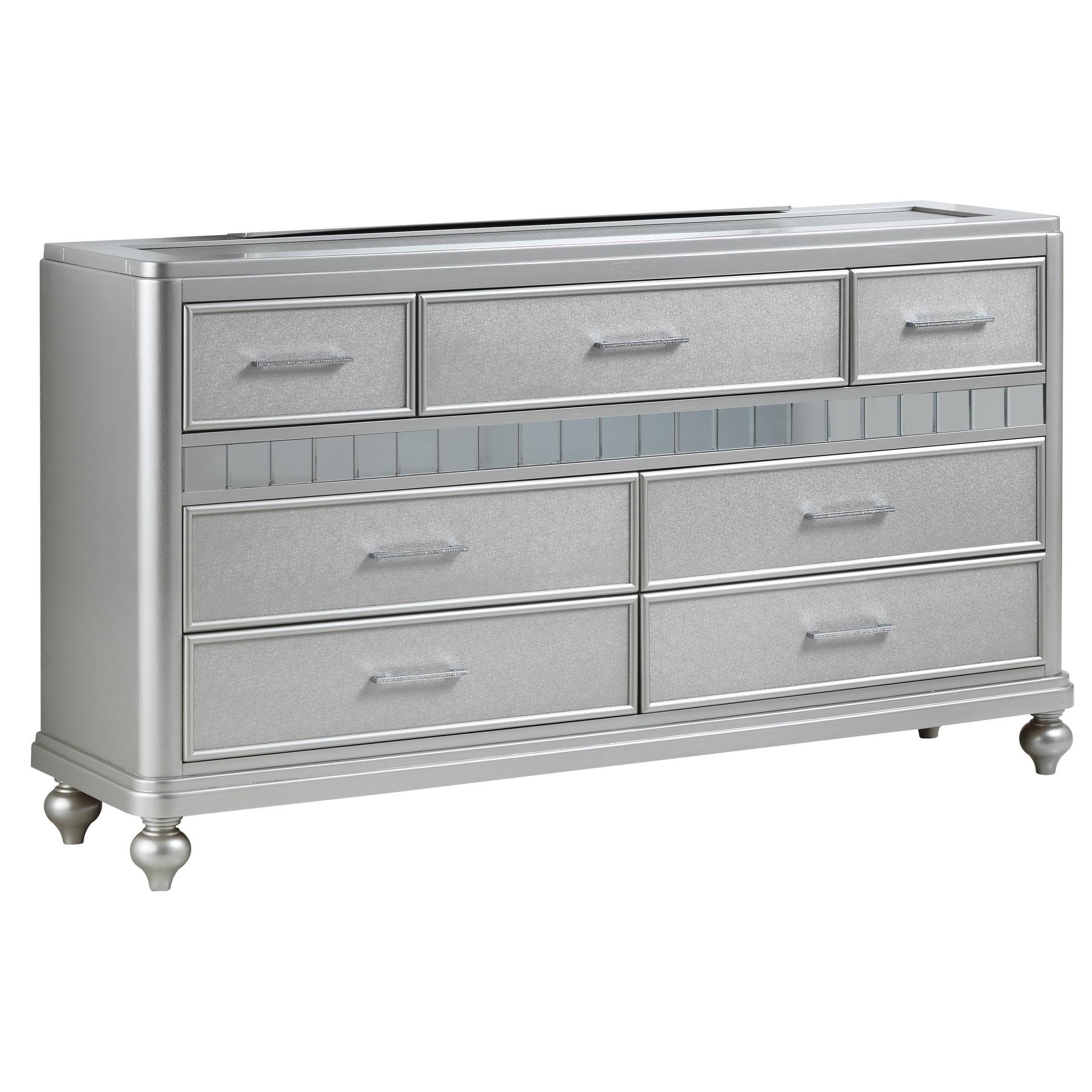 LYKE Home Passaic Silver Dresser