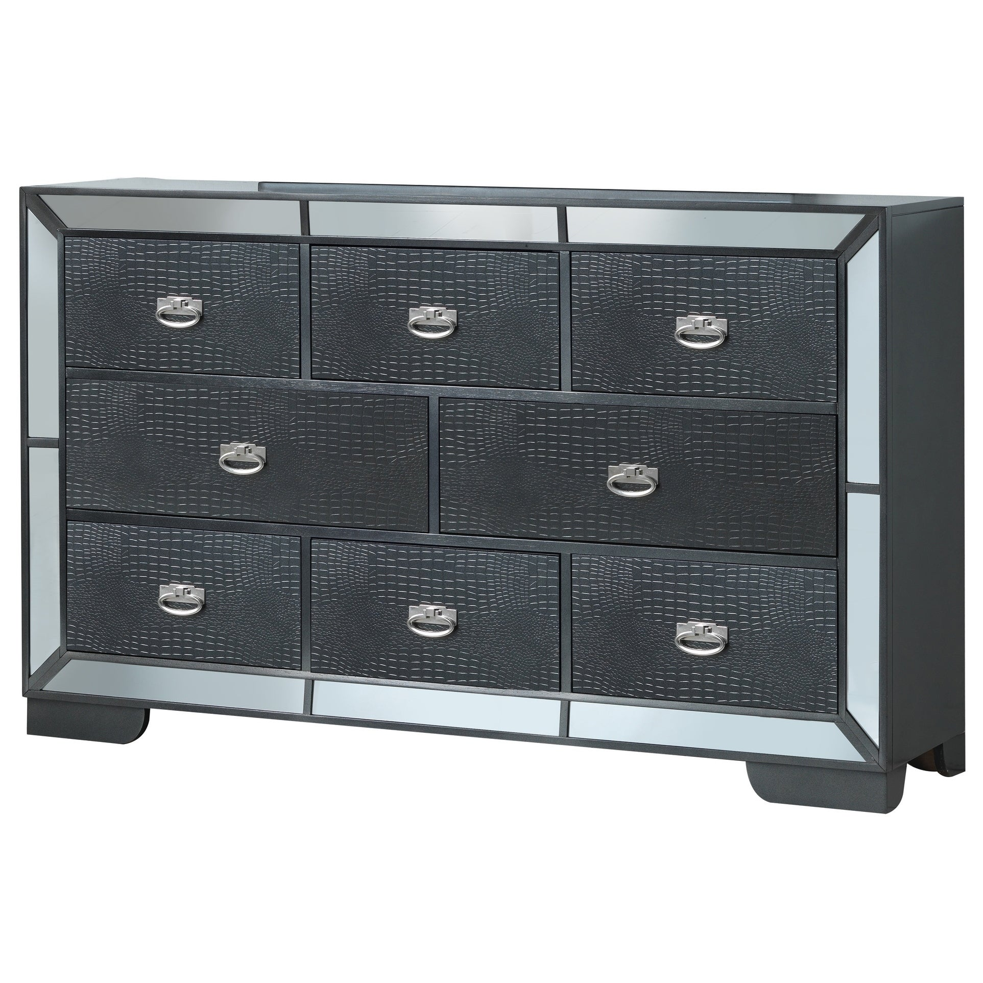 LYKE Home Holly Charcoal Dresser