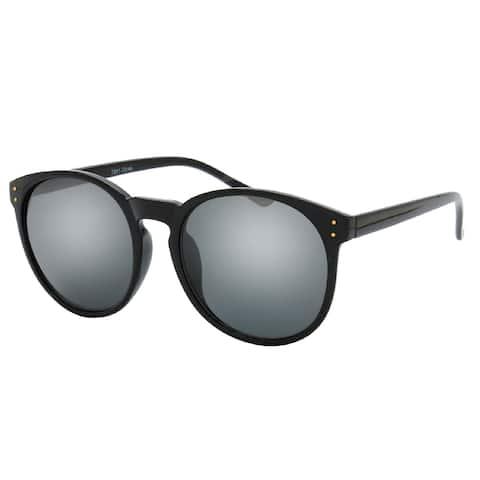 MLC Eyewear Urban Fashion Thin And Sleek Horn Tip Frame Sunglasses