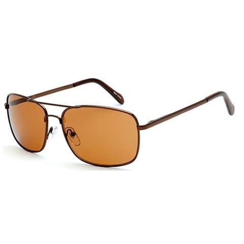 MLC Eyewear Classic Fashion Rectangular Flat Top Aviator Sunglasses