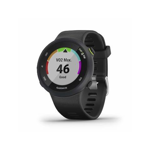 Garmin Forerunner 45, 42MM Easy-to-Use GPS Running Watch with Garmin Coach Free Training Plan Support (Black)