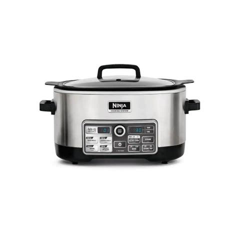 Ninja CS960 6 Qt Slow Cooking System (Stainless Steel) (Refurbished)