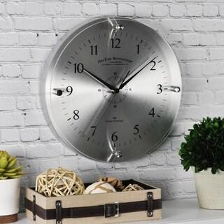 FirsTime & Co.® Steel Whisper Wall Clock