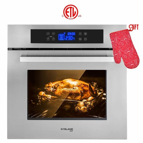 """Gasland Chef ES611TS 24"""" Built-in Single Wall Oven, 11 Cooking Function Electric Wall Oven, ETL Safety Certified"""