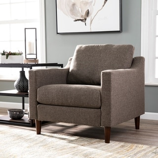 Harper Blvd Davis Transitional Beige Fabric Armchair (Brown)