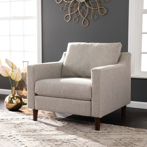 Davis Transitional Fabric Armchair