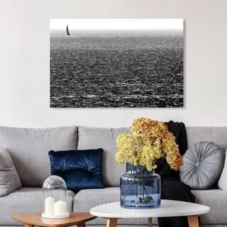 Wynwood Studio 'Untitled I by Tal Paz-Fridman' Nautical and Coastal Wall Art Canvas Print - Black, White