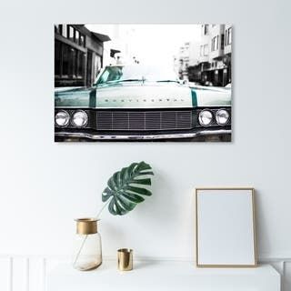 Wynwood Studio 'A Classic' Transportation Wall Art Canvas Print - Green, Black