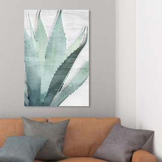 Wynwood Studio 'Nature Neutral' Floral and Botanical Wall Art Canvas Print - Green, White