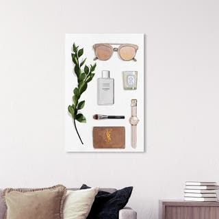 Wynwood Studio 'Nude' Fashion and Glam Wall Art Canvas Print - Brown, White
