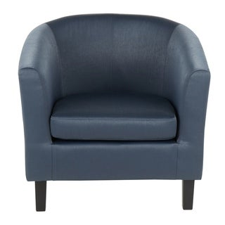 Claudia Satin Accent Chair - N/A (Slate Grey)