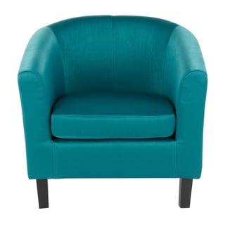 Claudia Satin Accent Chair - N/A (Green)