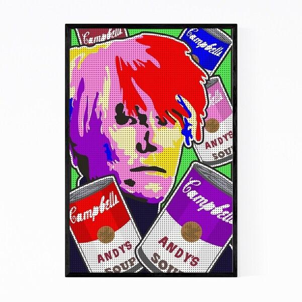 Noir Gallery Andy Warhol Campbells Soup Framed Art Print