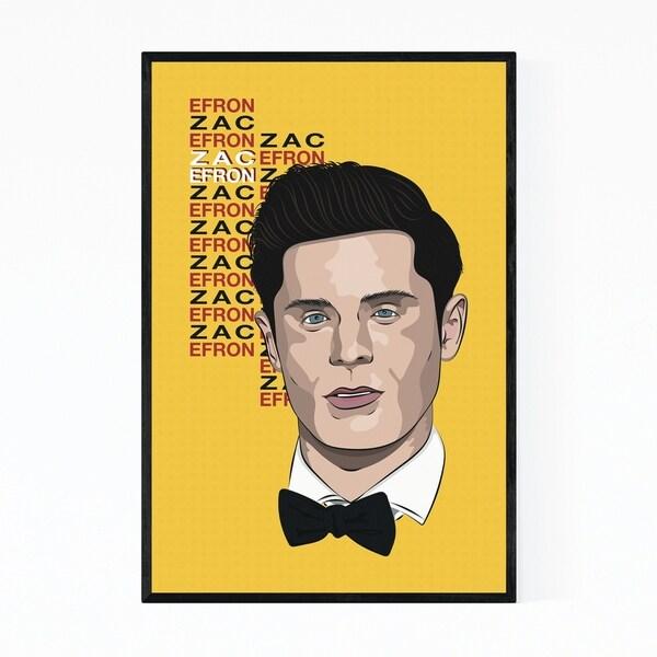 Noir Gallery Zac Efron Music Poster Framed Art Print