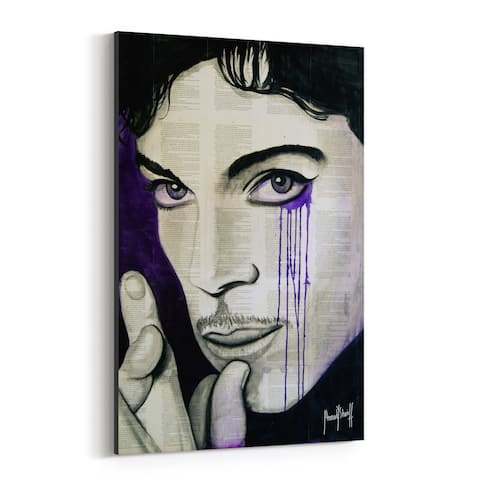 Noir Gallery Prince Music Pop Culture Icons Canvas Wall Art Print