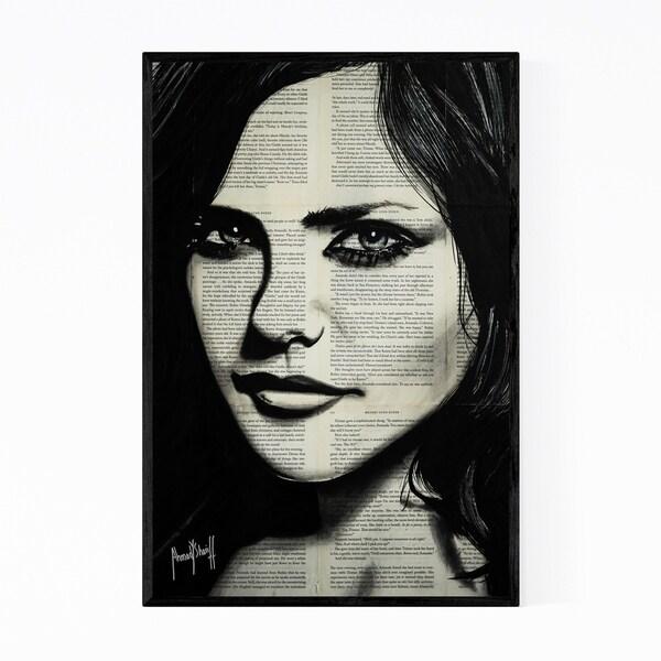 Noir Gallery Fiona Silver Music Pop Culture Framed Art Print