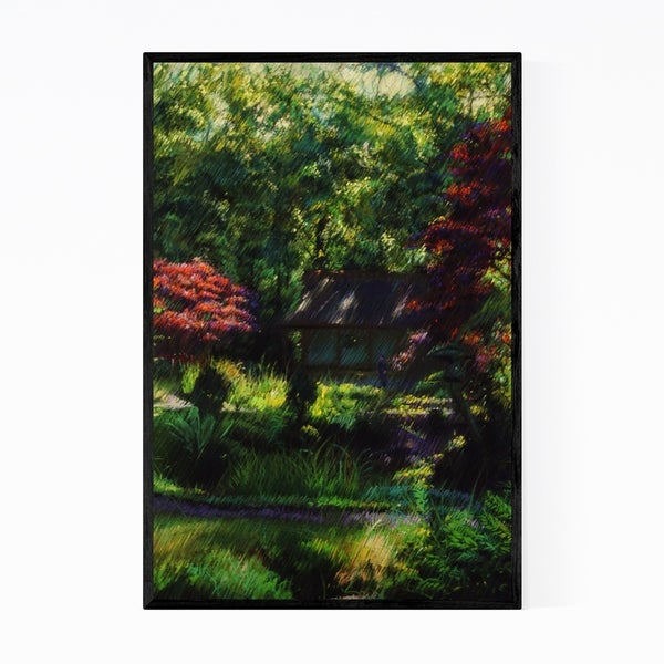 Noir Gallery Impressionist Nature Drawing Framed Art Print