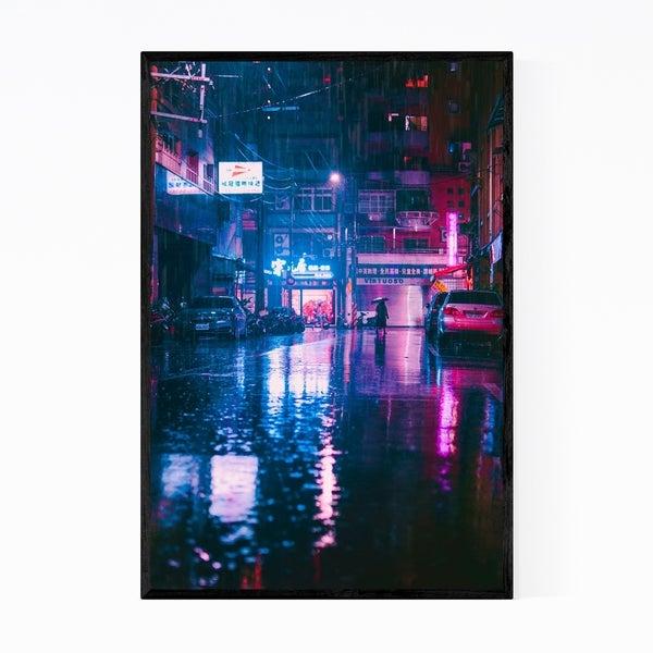 Noir Gallery Taipei Taiwan Urban Photography Framed Art Print