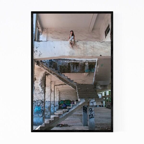 Noir Gallery Taoyuan Taiwan Photography Framed Art Print
