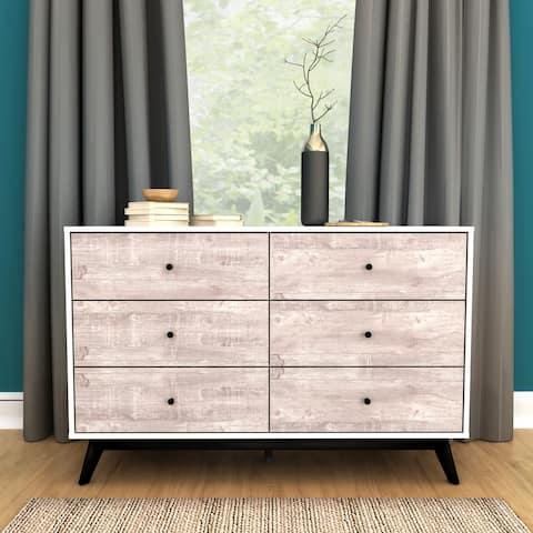 Simple Living Crislana 6-Drawer Dresser