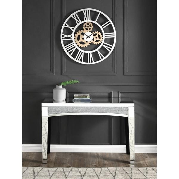 Acilia Wall Clock in Mirrored