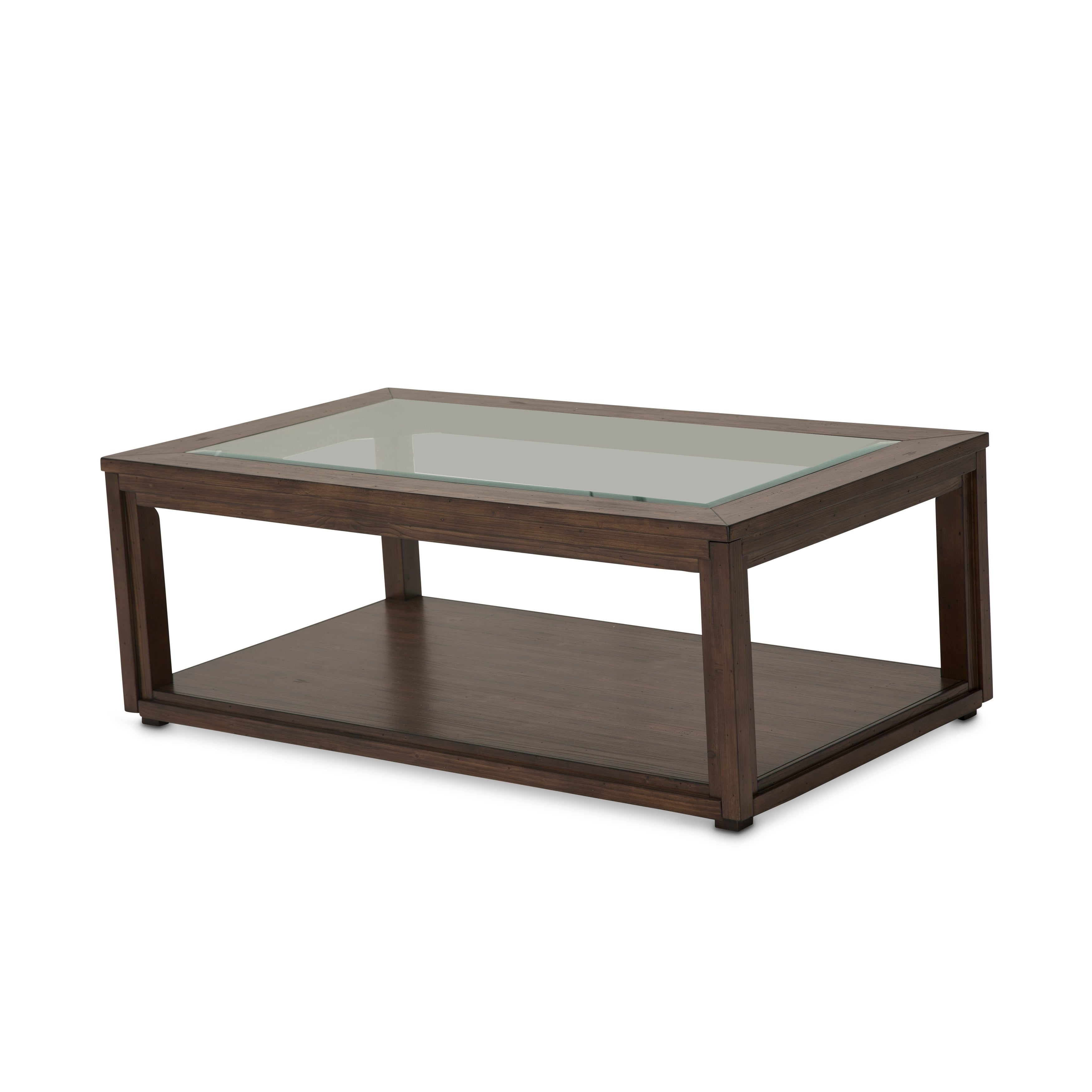 Carrollton Rustic Ranch Rectangular Cocktail Table by Kathy Ireland