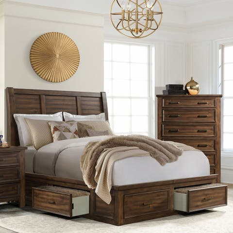 Copper Grove Foxdale Queen 6-drawer Platform Storage Bed