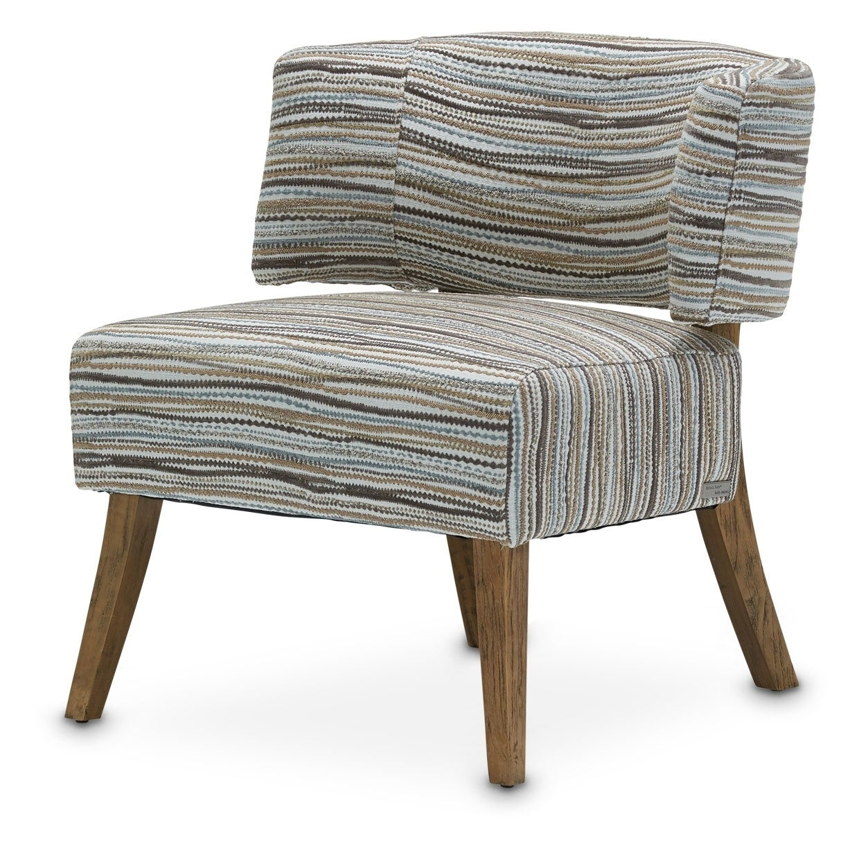 Half Moon Waves Curved Back Chair by Kathy Ireland